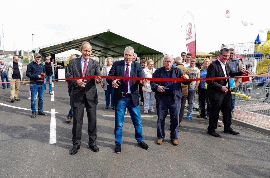 Eröffnung der neuen Firmeneinfahrt